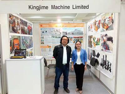 金峥机械参加2017莫斯科国际机床展