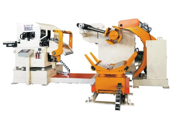 三机一体高配型精密型料架矫直送料机