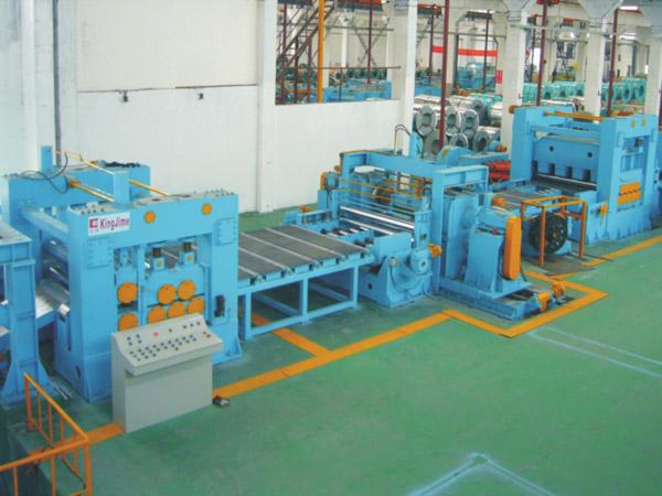 KJH25厚板低速数控精密开卷整平横切生产线