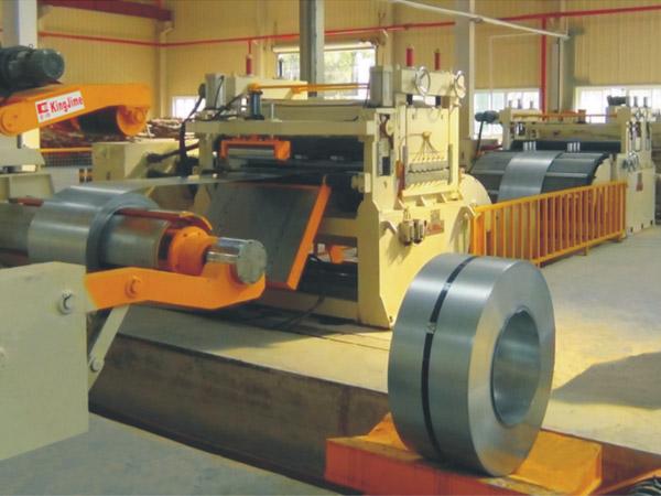 KJH60薄板高速数控精密开卷整平横切生产线