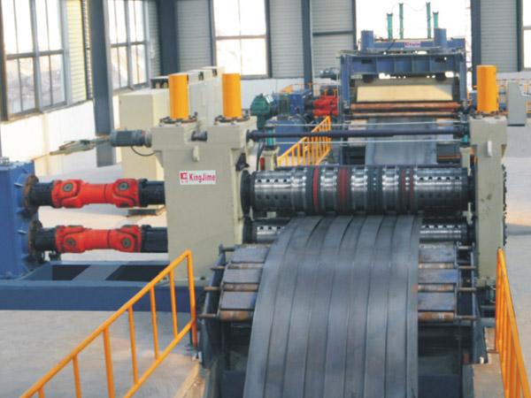 KJS40厚板低速数控精密开卷整平纵剪生产线