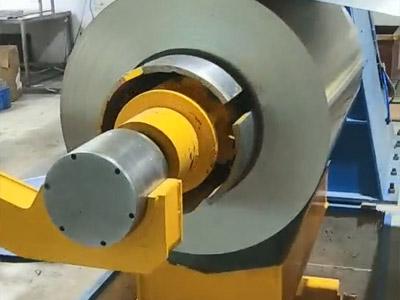 KJS120-3x1600mm纵剪生产线