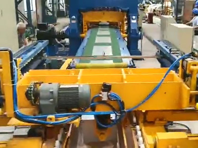 KJF100-3x1300mm飞剪生产线