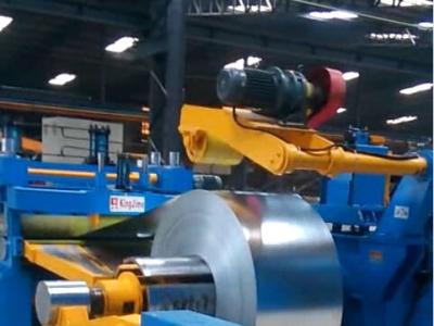 斯里兰卡KJ3-1300纵剪分条机顺利验收